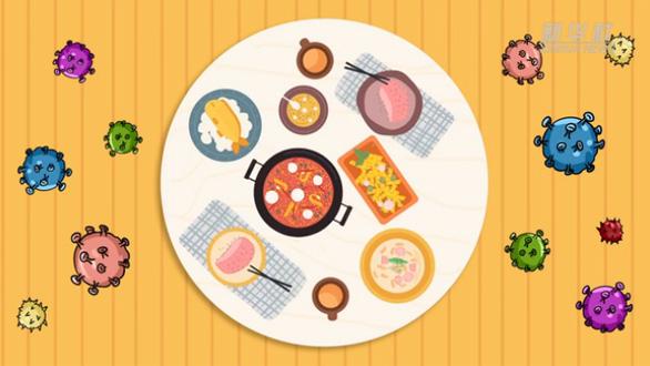 動漫視頻:公勺公筷 綠色用餐