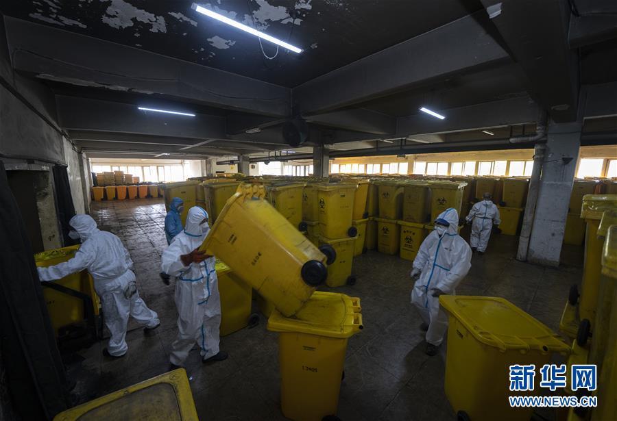 醫療廢物處置人員:特殊戰場戰病毒