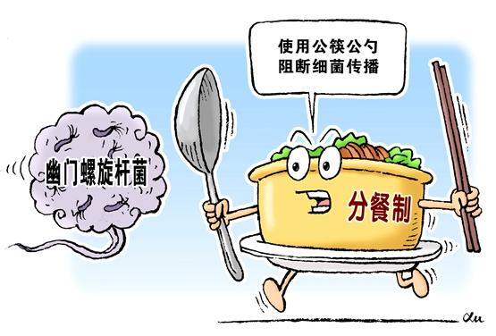 必須警惕幽門螺旋桿菌——專家談改變不良用餐習慣