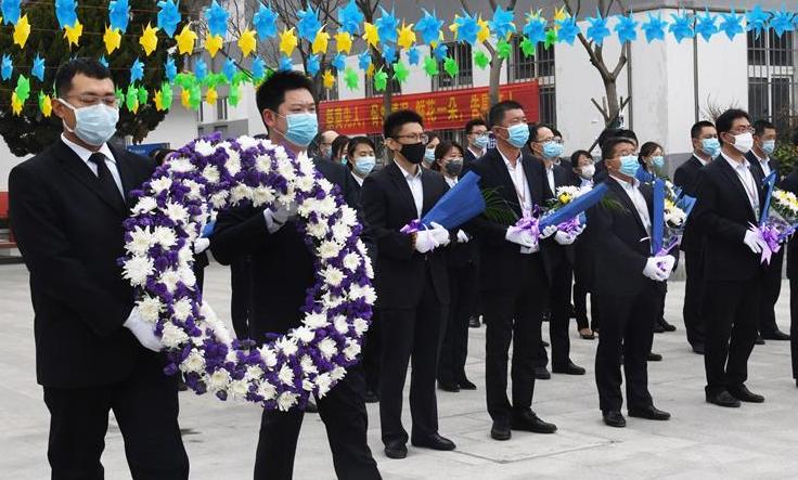 青島舉行清明代祭活動