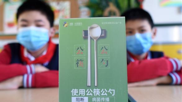使用公筷公勺 從小抓起