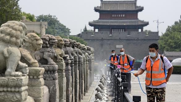 北京豐臺:開展環境消毒 保障市民安全
