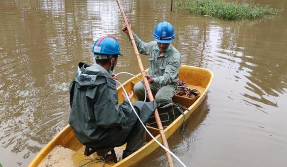 與近5年同期均值相比 今年洪澇災害受災人次下降46%