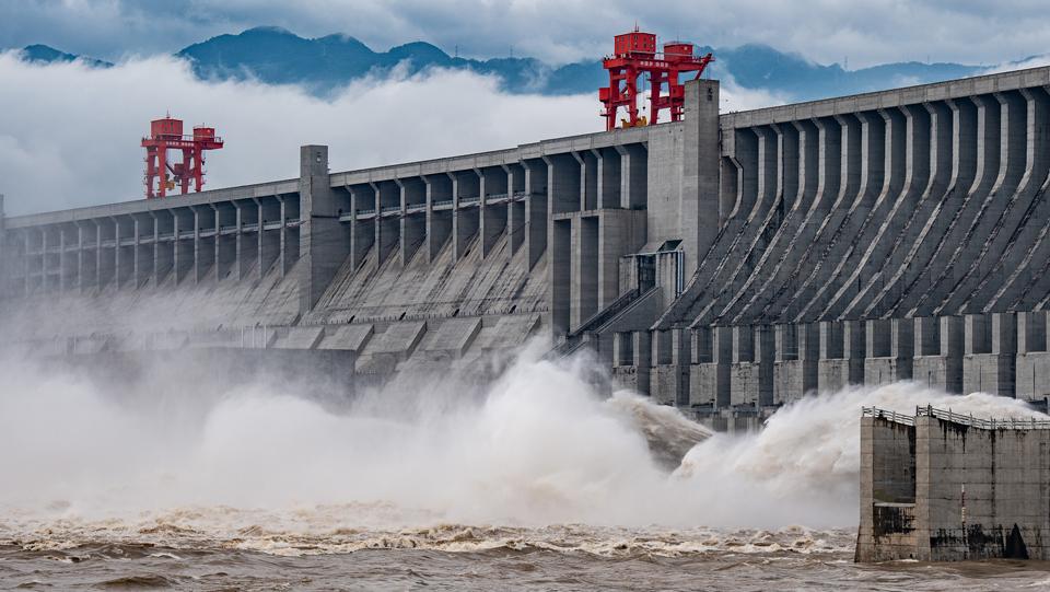 """""""長江2020年第1號洪水""""在長江上遊形成"""