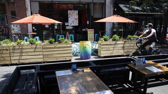 紐約進入重啟第三階段 餐飲業室內就餐仍暫停