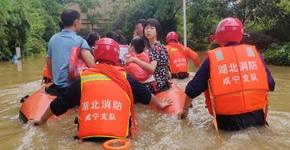 搶險!群眾安全高于一切——湖北統籌部署應對洪澇災害