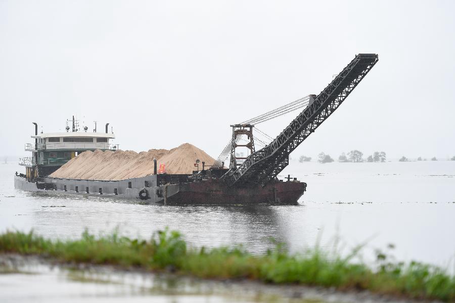 湖南益陽:加強湖區汛情應急值守和巡查排險工作