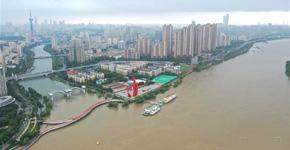 長江南京段持續高水位