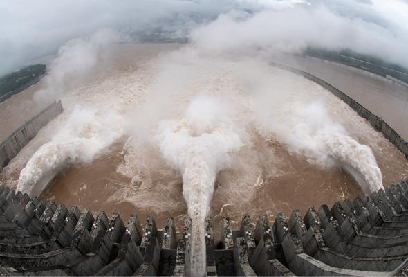 今年入汛以來最大洪水抵達三峽 流量超6萬立方米/秒