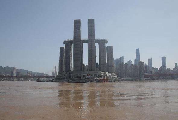 長江上遊今年最大洪水過境重慶主城