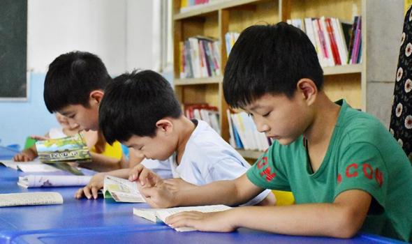 文體活動豐富河南農村孩子暑期生活