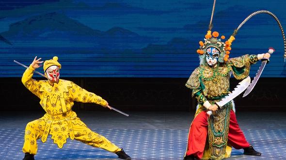 京劇演出豐富學生暑期生活