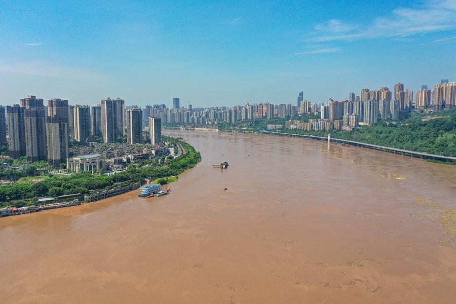 長江發生2020年第4號洪水