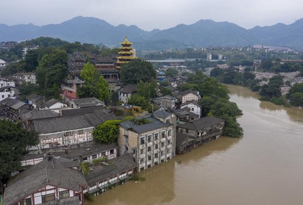 重慶啟動洪水防禦I級應急響應