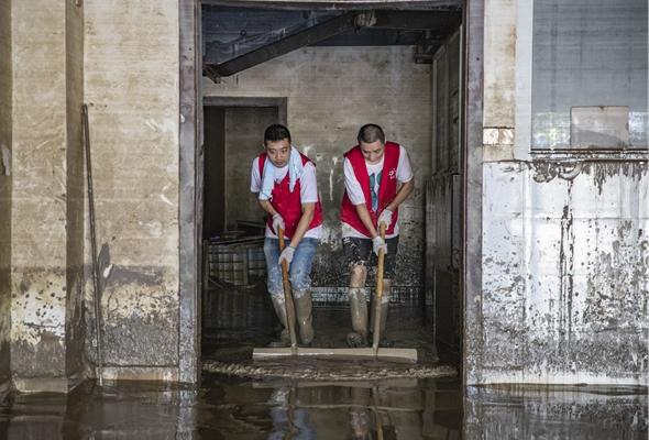 重慶潼南:齊心協力恢復家園