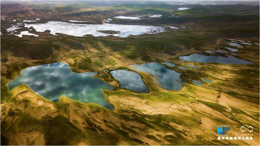 壮观!青海千湖之县——玛多