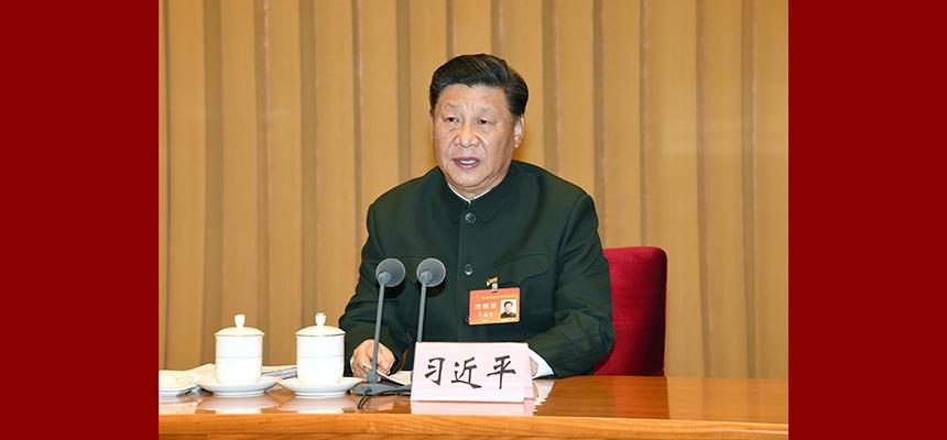 習近平出席中央軍委軍事訓練會議並發表重要講話