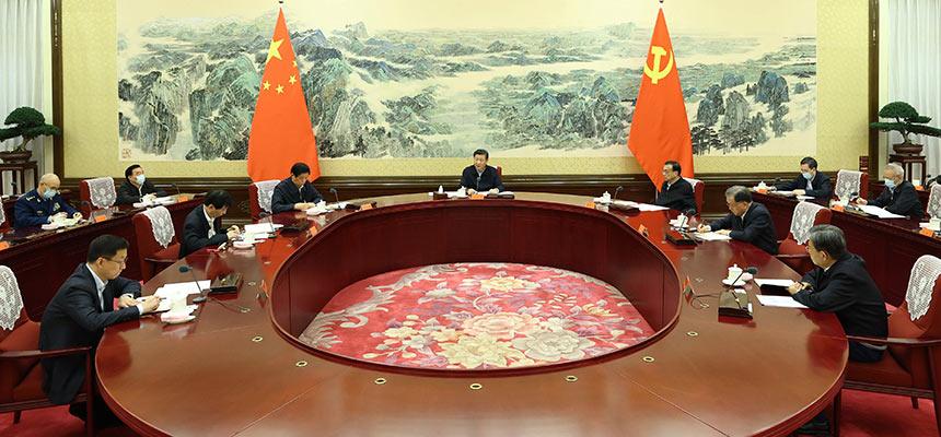 中共中央政治局召開民主生活會 中共中央總書記習近平主持會議並發表重要講話