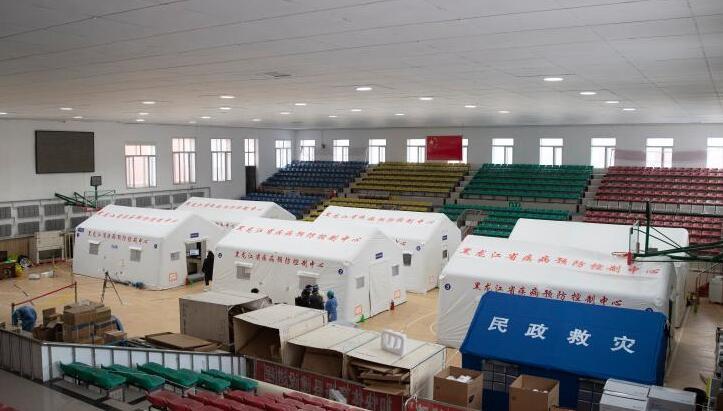 探訪黑龍江望奎移動方艙檢測實驗室