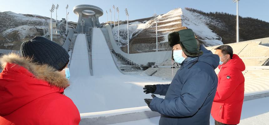 習近平在北京河北考察並主持召開北京2022年冬奧會和冬殘奧會籌辦工作匯報會