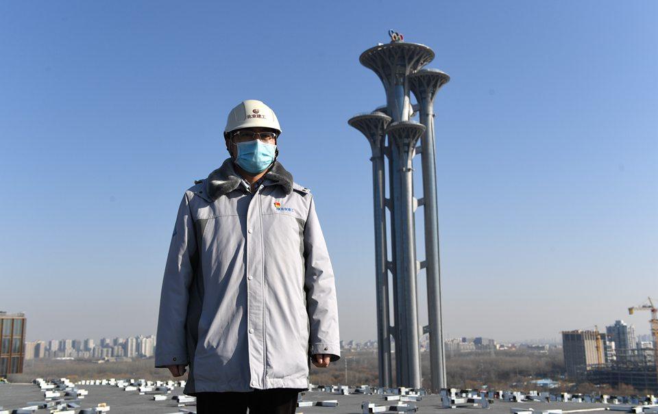 今年我在北京过年