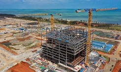 在海口江東新區感受海南自貿港建設浪潮