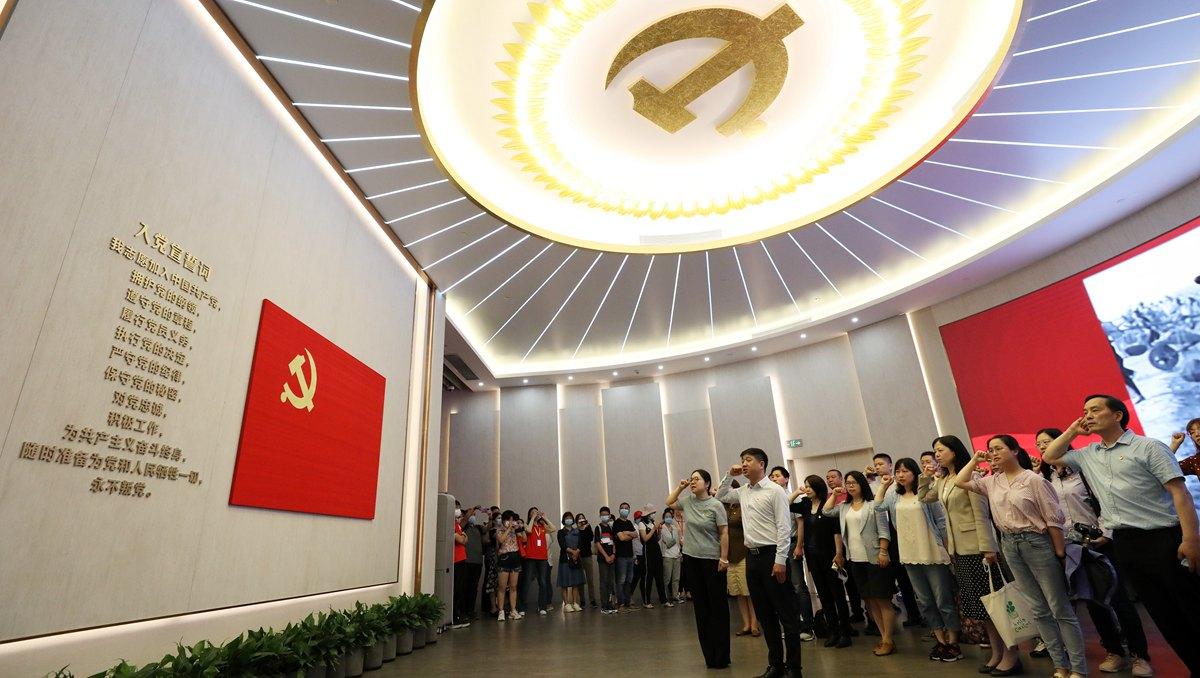 精神之源 精神標識——中國共産黨的偉大建黨精神啟示錄