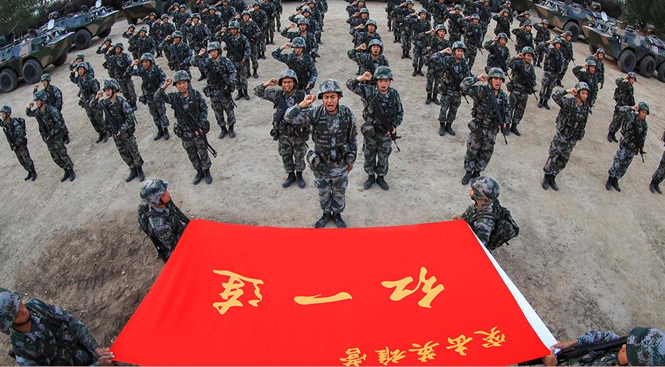 陆军第83集团军某旅红一连传承红色基因锻造强军标兵记事