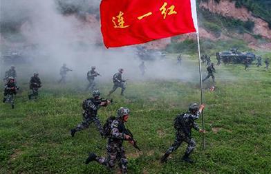 """第83集团军某旅""""红一连""""弘扬抗战精神练兵备战记事"""