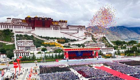 """從壯麗70年解讀三個""""為什麼""""——西藏和平解放發展啟示錄"""