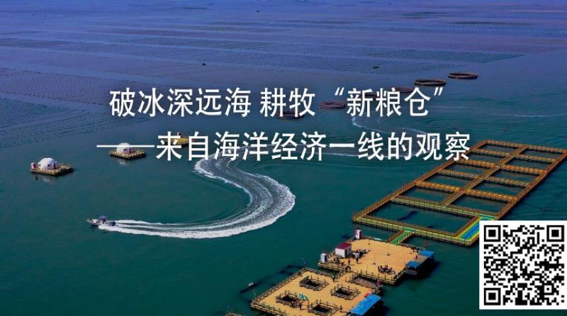 """破冰深遠海 耕牧""""新糧倉""""——來自海洋經濟一線的觀察"""