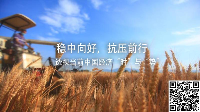 """穩中向好,抗壓前行——透視當前中國經濟""""時""""與""""勢"""""""