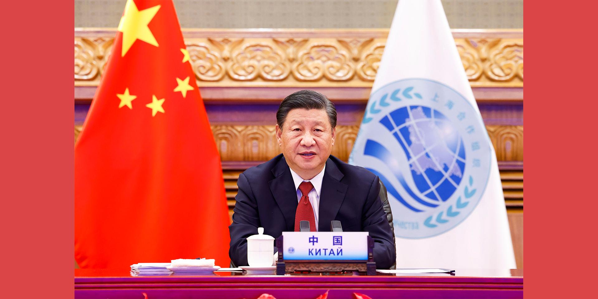 構建更加緊密的上海合作組織命運共同體。
