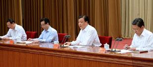 刘云山出席群众路线教育实践活动工作会议