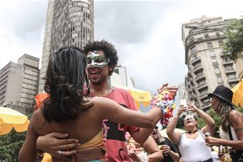 巴西聖保羅的街頭狂歡