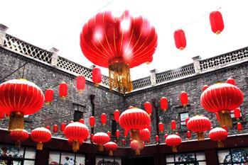 黑龍江哈爾濱:正月十五雪打燈