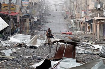 伊拉克政府軍收復摩蘇爾西城一重要據點