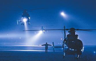 直擊空軍學員夜間飛行訓練