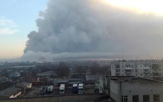 烏克蘭一彈藥庫發生爆炸 尚無人員傷亡報告
