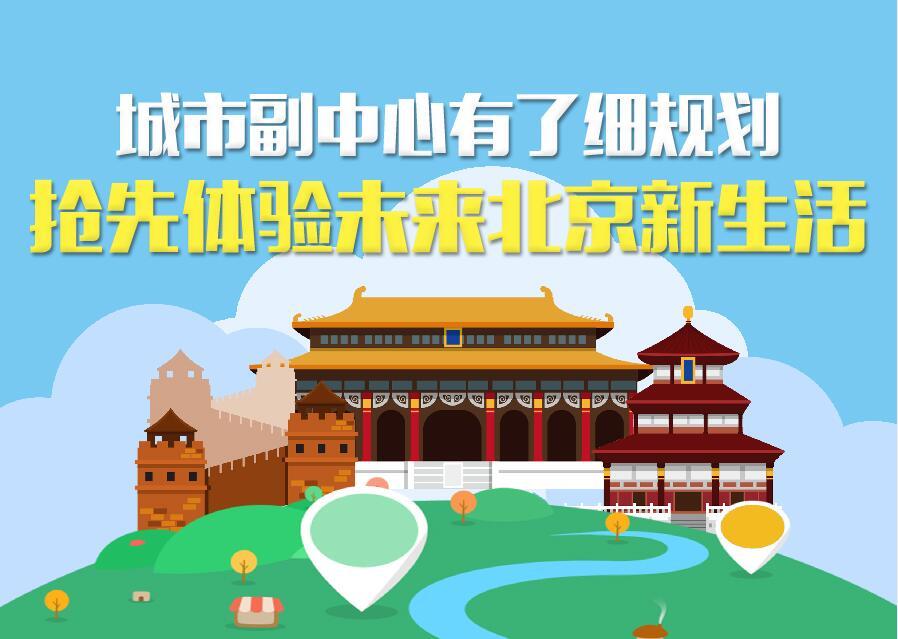 城市副中心有了細規劃 搶先體驗未來北京新生活