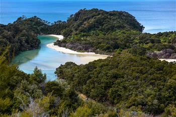 新西蘭阿貝爾·塔斯曼國家公園風光