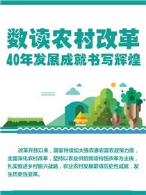 數讀農村改革:40年發展成就書寫輝煌