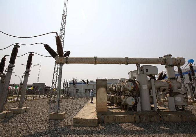 中缅合建天然气电厂竣工助缅供电
