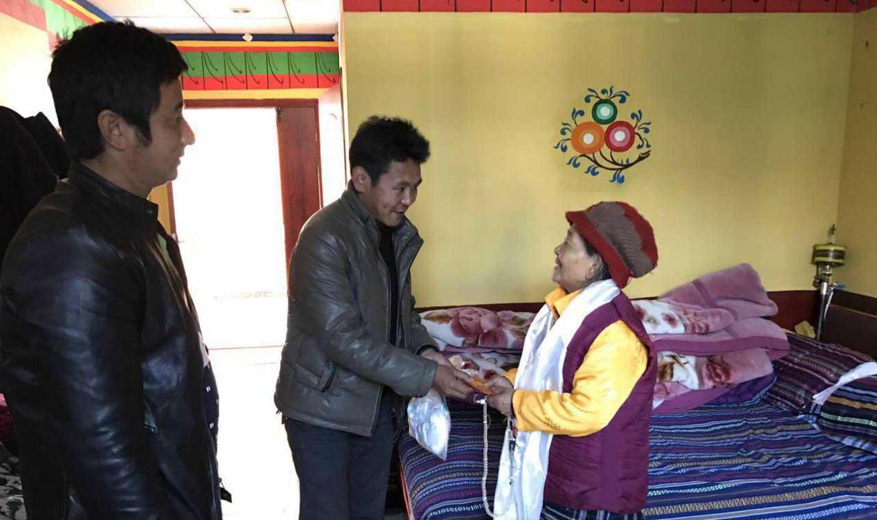 西藏 藏民驻藏 坚守扶贫一线 --记华能驻村好村官、农牧民的好儿子布桑