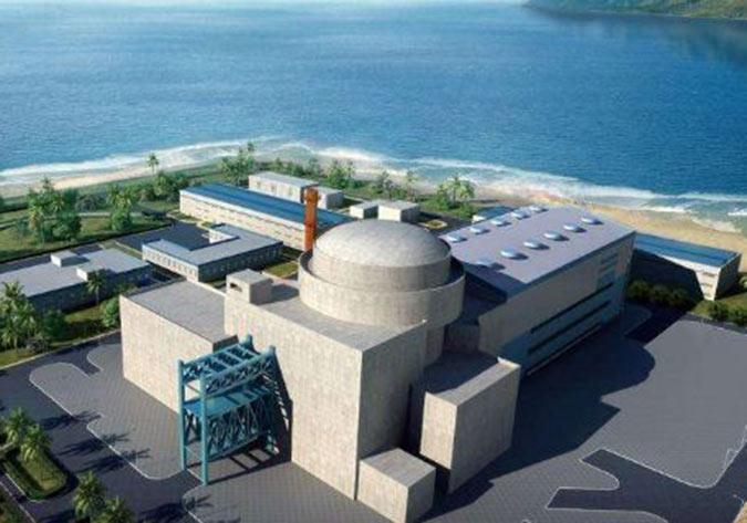 """""""华龙一号""""全球首堆反应堆压力容器完成"""