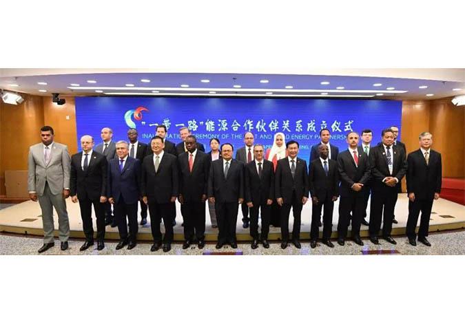 """""""一带一路""""能源合作伙伴关系在京成立"""