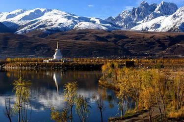川藏線上的美麗風景