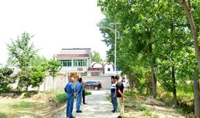 华能南京电厂:亮化工程,照亮贫困村幸福之路