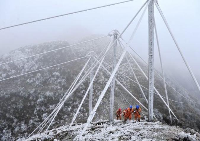 湖南电网或破历史最大负荷 尽力迎战雨雪冰冻天