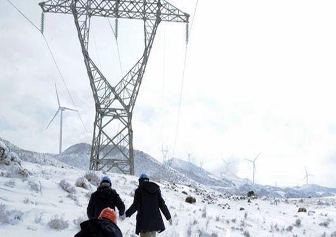 湖南:雨雪冰冻致电网负荷创历史同期新高
